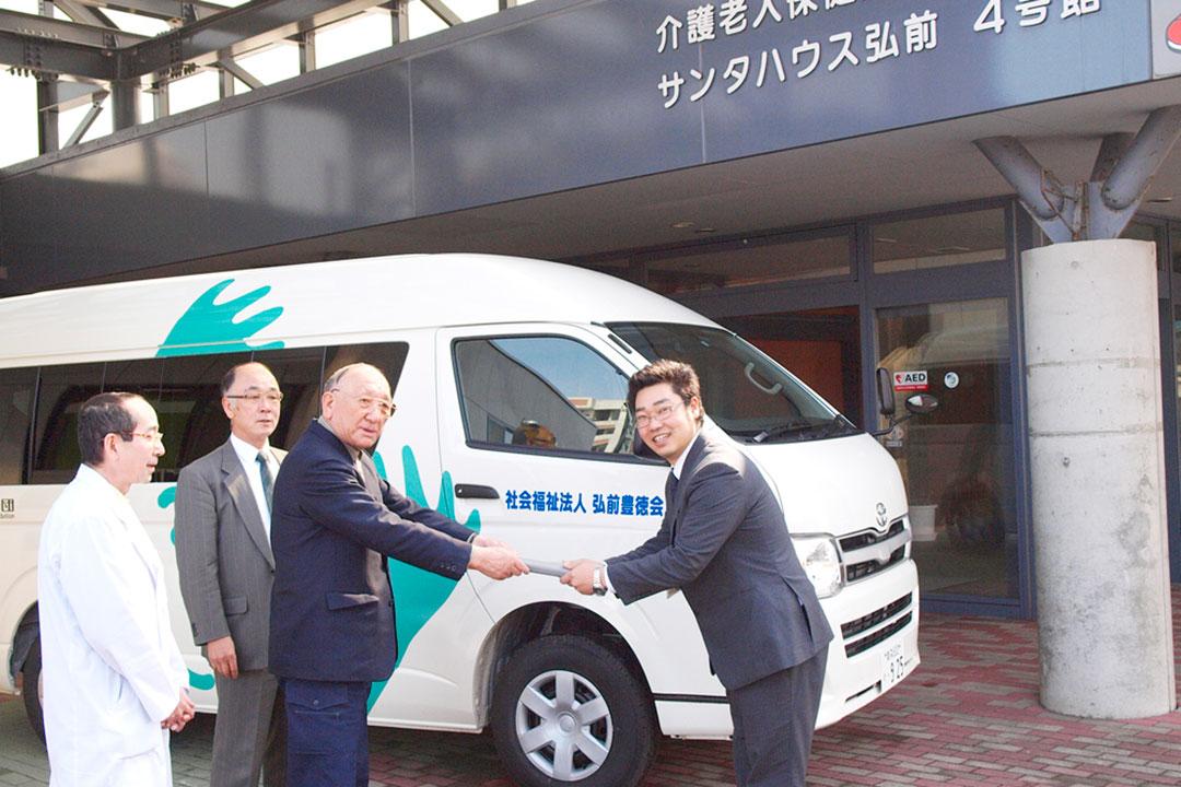 日本財団助成による被災地支援用福祉車両の購入